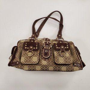 Kathy Van Zeeland Brown Handbag New!